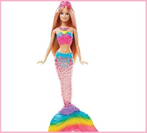 Barbie sirena magiche luci