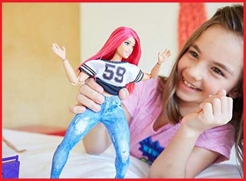 Barbie snodata capelli rossi
