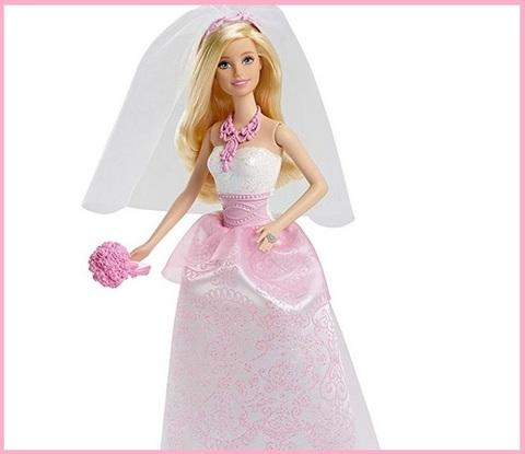 Barbie sposa bambola