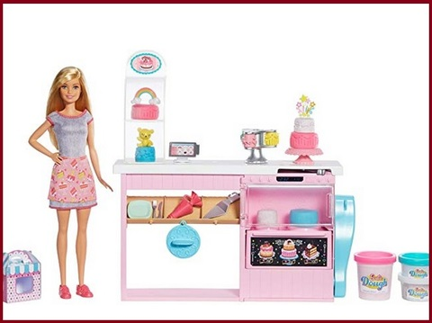 Coffee shop barbie toys