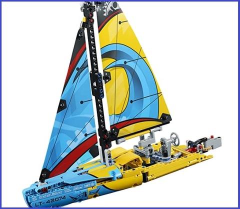 Barca A Vela Lego