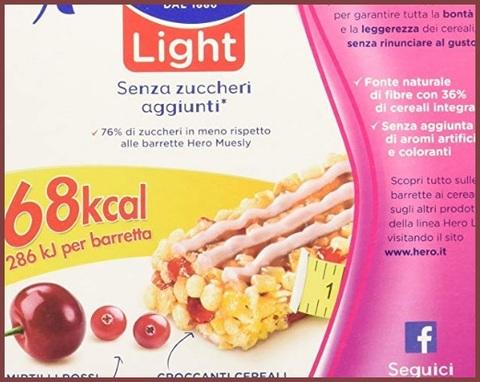 Barrette Frutta Senza Zucchero