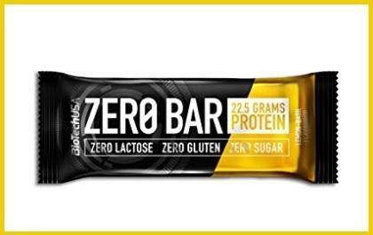 Barrette Zero Bar Doppio Cioccolato