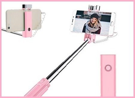 Bastone Selfie Rosa