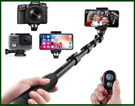 Bastone Selfie Bluetooth Allungabile