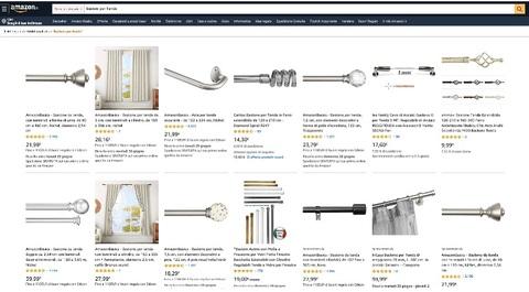 Siti per comprare bastoni per tenda