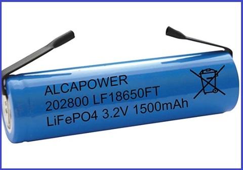 Batterie 18650 1500mah
