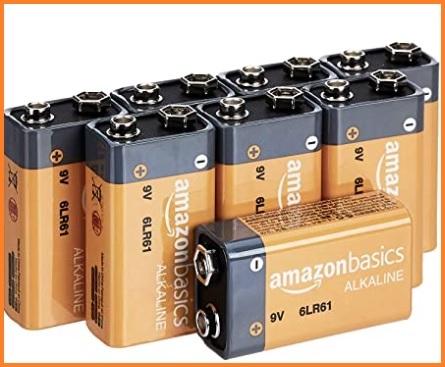 Batterie 9v litio