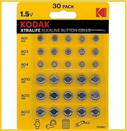 Batterie orologio da polso