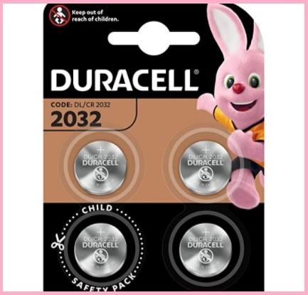 Batterie piatte rotonde duracell