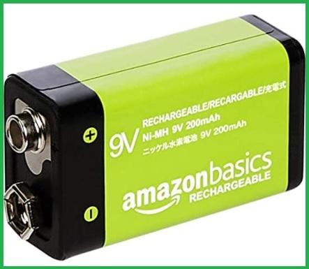 Batterie rettangolari 9v ricaricabili
