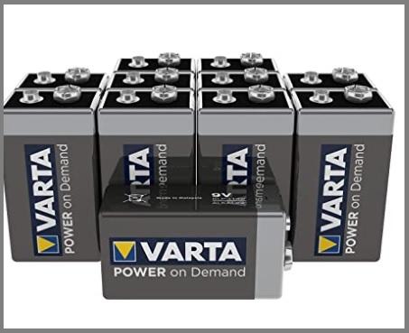 Batterie varta 9v