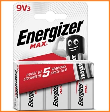 Batterie 9v alcaline