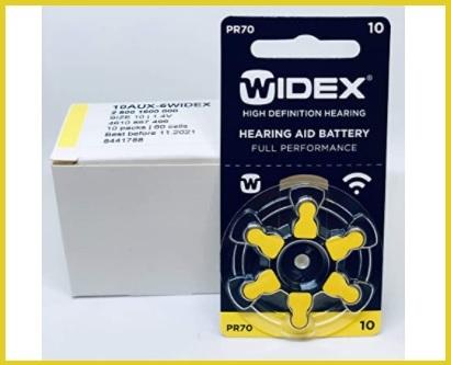 Batterie acustiche per apparecchi