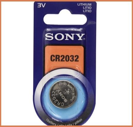 Batterie cr2032 sony