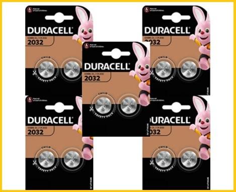 Batterie duracell 2032