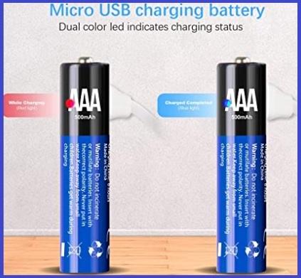 Batterie usb litio