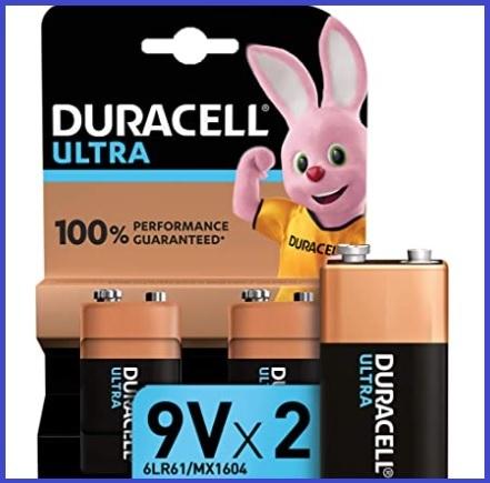 Batterie 9v Duracell