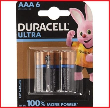 Batterie duracell aaa ultra power