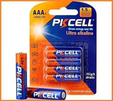 Batterie ministilo alcaline