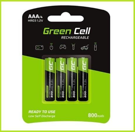 Batterie ricaricabili aaa