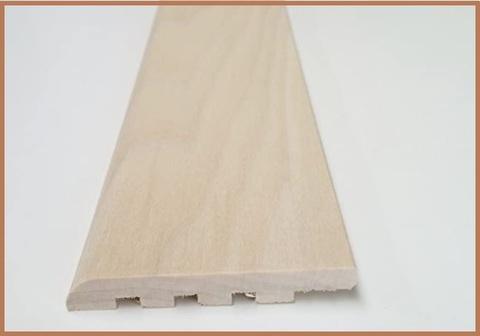 Battiscopa legno grezzo