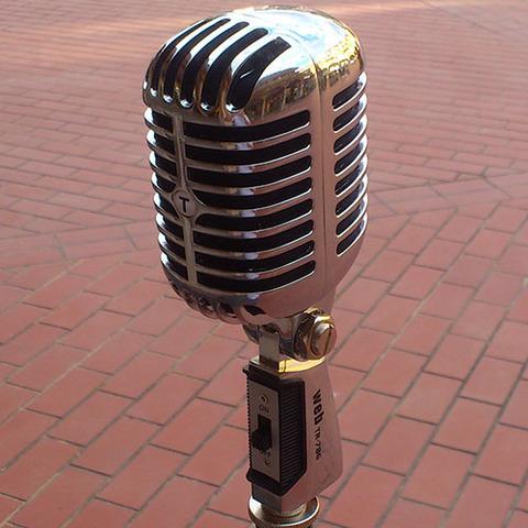 Microfono dinamico stile elvis