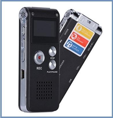Dittafono digitale usb