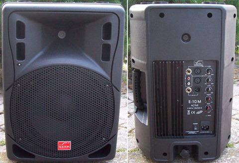 Monitor attivo 160w rms solton e-10 m