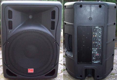 Box attivo bi-amplificato 250w rms