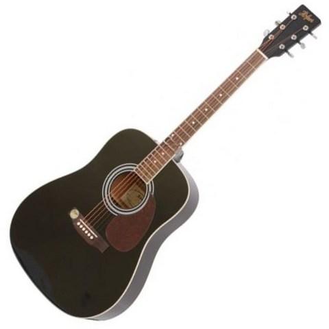 Chitarra acustica höfner has-d01  nera