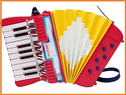 Organetto 8 bassi roling's 1600 rosso