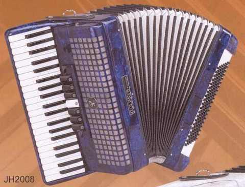 Fisarmonica 120 bassi roling's jh2008