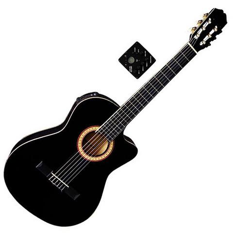 Chitarra classica elettrificata almeria ps500.096