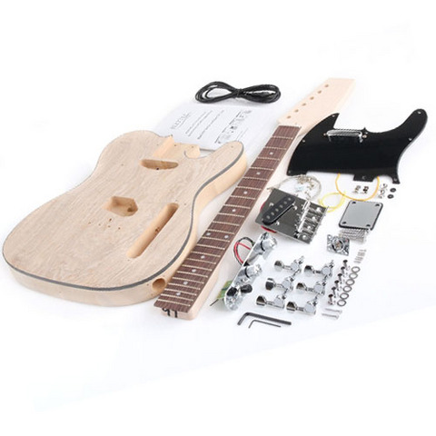 Kit per assemblaggio chitarra elettrica tipo telecaster