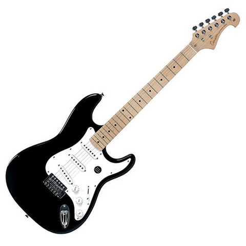 Chitarra elettrica tenson california st-one black