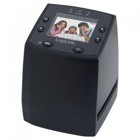 Scanner diapositive / negativi con lcd e slot sd