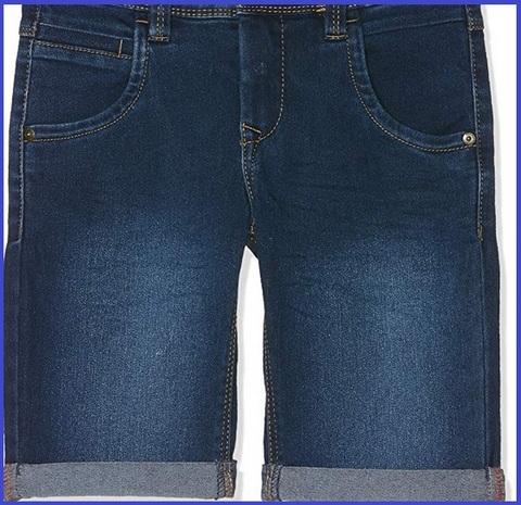 Bermuda Jeans Bambino