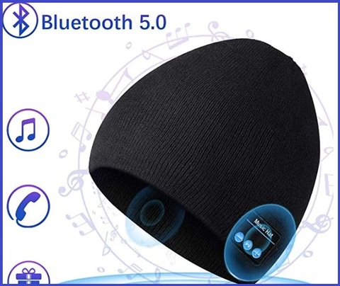 Berretto musicale bluetooth