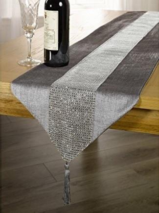 Traversa centro tavola per il tavolo in strass