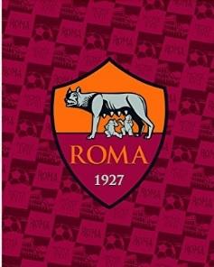Plaid coperta roma calcio in poliestere