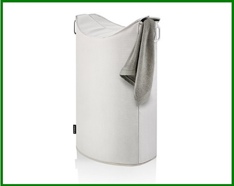 Portabiancheria design in alluminio