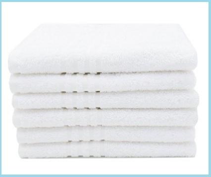 Asciugamani eleganti bagno