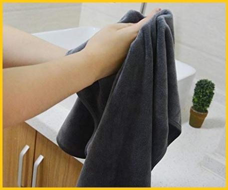 Asciugamani da bagno microfibra
