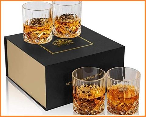 Bicchieri e cristalli cocktail