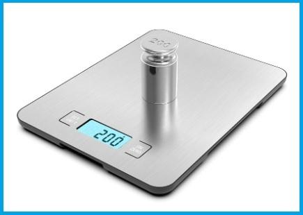 Bilancia digitale da cucina di precisione