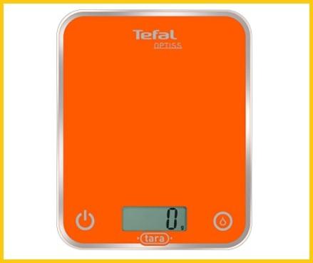 Bilancia da cucina digitale arancione