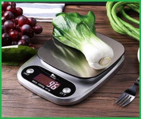 Bilancia Da Cucina Digitale Fino A 10kg