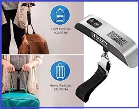 Pesa valigie da viaggio