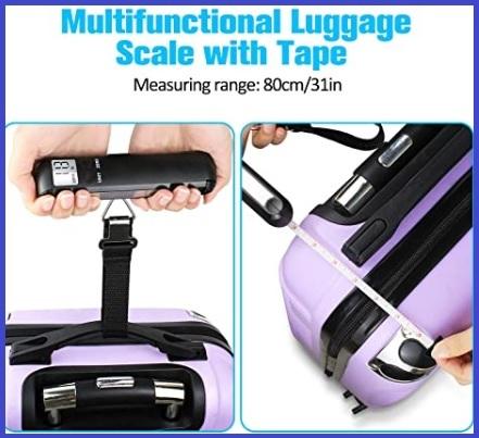 Pesa valigia manuale da viaggio